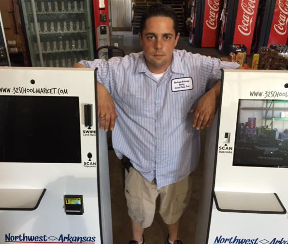 Northwest Arkansas and Fayetteville vending machines