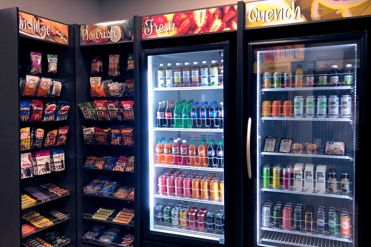 Self-serve micro-markets for Northwest Arkansas and Fayetteville offices